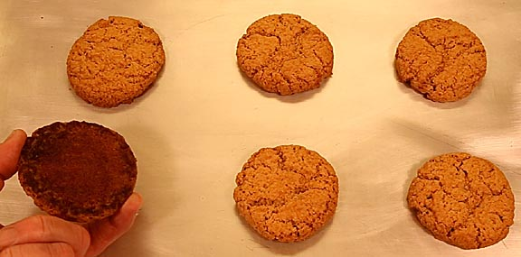 how to clean burnt cookie sheets
