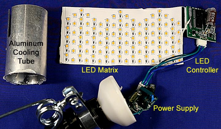 What S Inside A Led Flame Effect Bulb